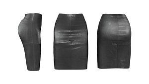 3D Pencil Skirt V2 model