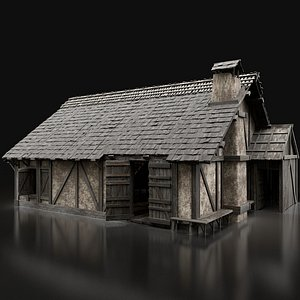 3D aaa medieval city