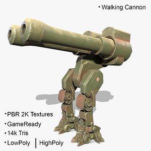 3D Walking Cannon