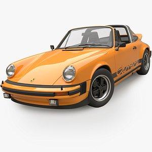 Porsche 911 Carrera Targa 2.7 1974 3D