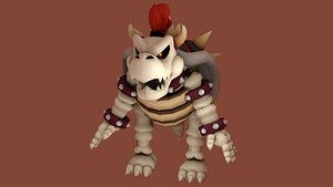DRY BOWSER - PBR - RIGGED 3D model