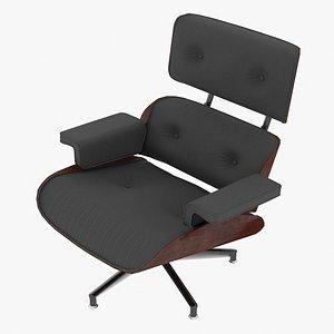 3D model eames lounge classic chair