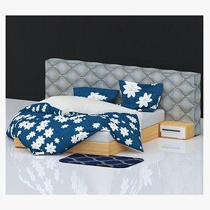 3D BED 08 model