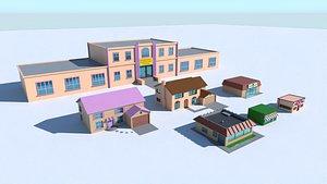 simpsons house 3D model