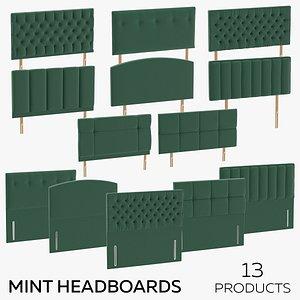 Mint Headboards 3D model