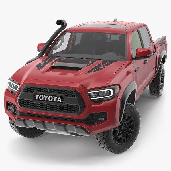 toyota tacoma trd pro model