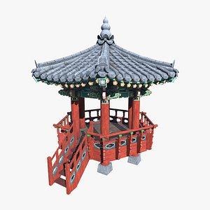 PavilionHexagon 3D model