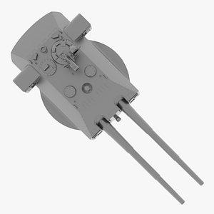 3D uberlord turret model