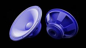 Speaker Woofer Print 3d 04 - Blender 3d 3D model