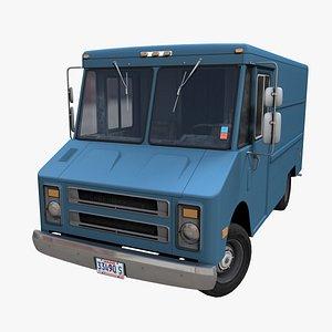 Industrial Step Van PBR model