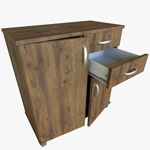 Simple Cabinet 3D model