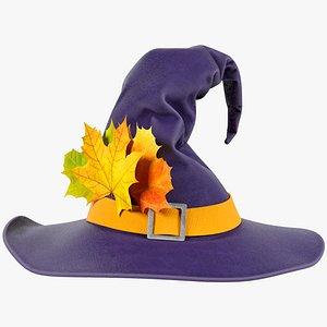3D Witch Hat V3 model