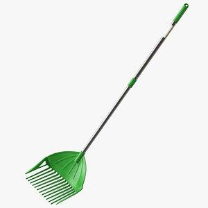 multipurpose combined rake shovel 3D