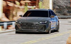 3D Sport Car model