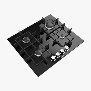 cooking hobs 3D