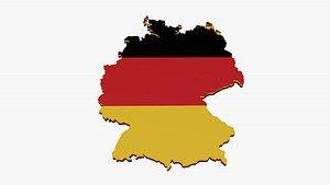 3D Germany model