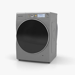 Brastemp Tira Manchas Pro Washing Machine 3D