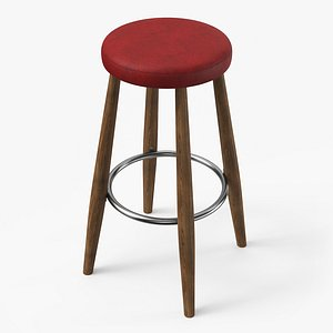 ch56 bar stool 3D model
