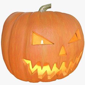 3D model Halloween Pumpkin