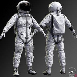 3D real space suit model