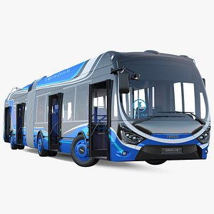 3D iveco crealis imc electric model