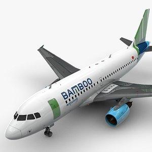 AirbusA319-100BAMBOO AirwaysL1448 model