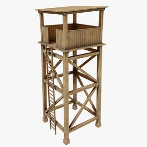 Guard Tower 1 3D