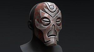3D model Skyrim Dragon Priest Mask - Hevnoraak