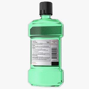 3D Antiseptic Mouthwash 500ml Bottle