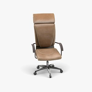 home office chair 3D