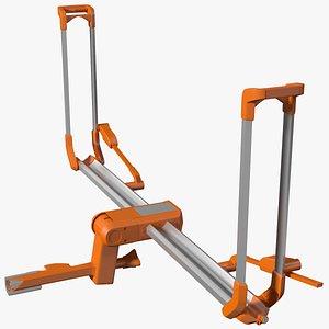 Bike Rack Platform 3D model