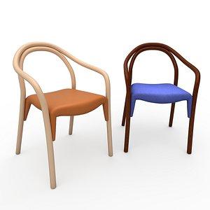 armchair soul soft 3D model