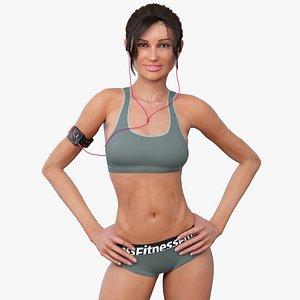 female athlete max