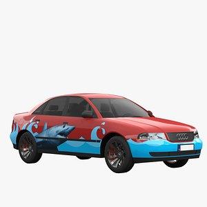 3D a4 1996 model