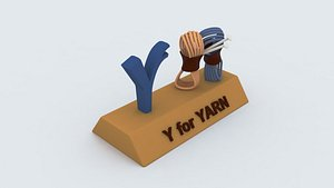 yarn learning printable model