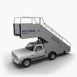 1981 Dodge Ram Stair 3D model