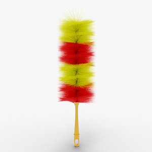 Hand Furniture Duster 3D