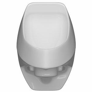 urinal bathroom 3D model