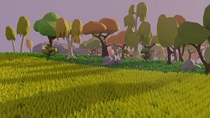 3D assets nature games packs