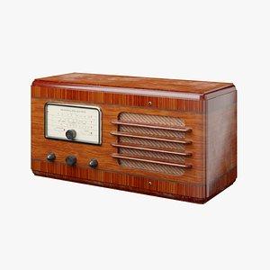 General Electric F-70 Radio 3D
