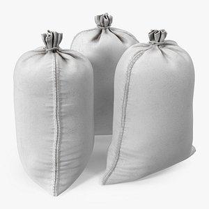 3D White Polypropylene Sandbags