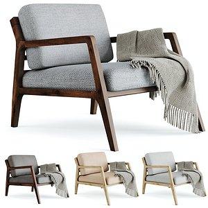 3D denman armchair chair