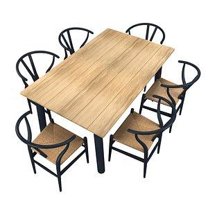 3D ch24 chair modern model