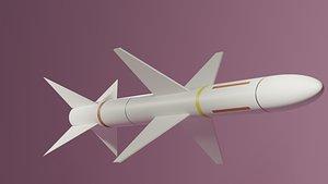3D missile aim ar model