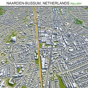 3D model Naarden Bussum Netherlands