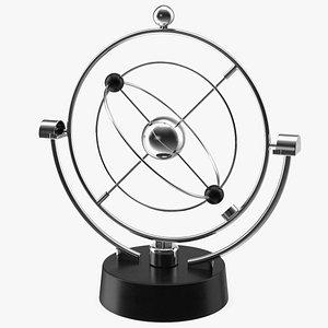 3D model Orbital Newton Pendulum Model