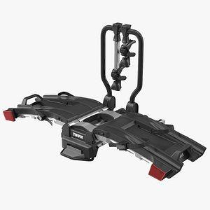 Hitch Bike Racks Thule EasyFold XT2 3D model