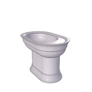 3D pedestal sink