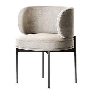 Gallotti and Radice Akiko Chair model