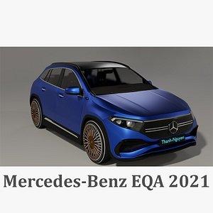 Mercedes-Benz EQA 2021 3D model